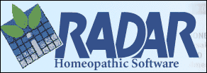 radar homeopathy