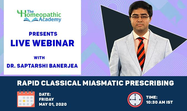 webinar with dr saptrishi banerjee
